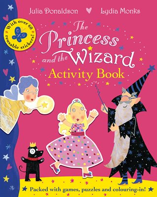Book cover for The Princess and the Wizard Activity...